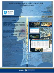 Modelo de simulador de danos de risco sísmico em ambiente WebSIG